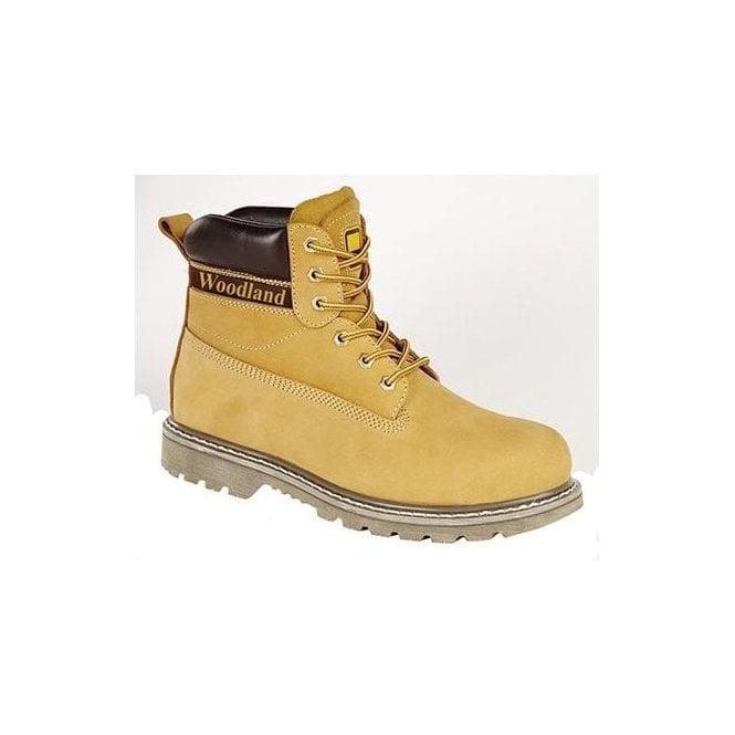Woodland Honey Nubuck Lace Up Boots
